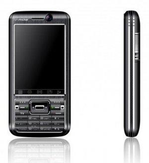 NEW A318 Black Quad-band Dualsim Standby TV Cell Phone UNLOCK + 1GB. TF Card