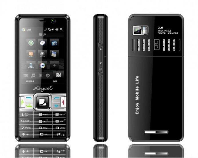 NEW T718 Quad-band,dual sim card, dual standby TV mobile 1GB TF
