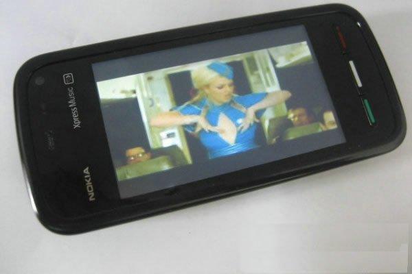 New 5800 Dual SIM Dual Standby MP3 MP4 Quad Band TV mobile phone