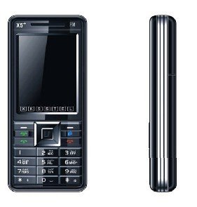 New X5 Quad band Dual Sim Standby Touch Screen Unlocked Cell Phone 1GB. TF
