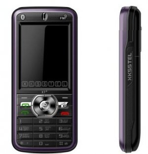 New X7 Quad band Dual Sim Standby Touch Screen Unlocked Cell Phone 1GB. TF