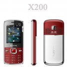 New X200 Quad band Dual Sim Standby Touch Screen Unlocked Cell Phone 1GB. TF