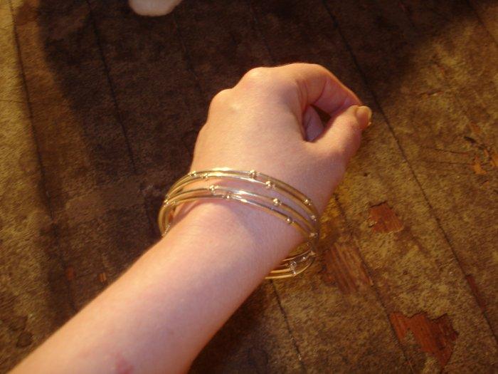 Silver Layered bangles