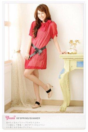 Polka dots dress (D8445)