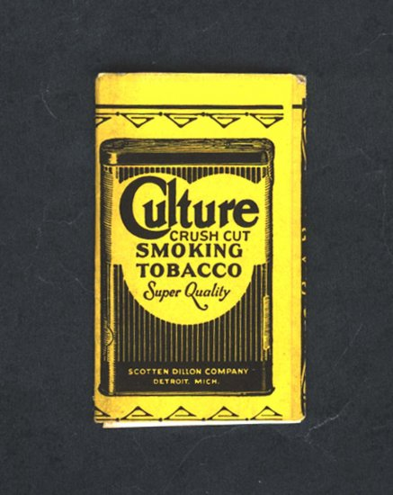 SCARCE-- Culture Smoking Tobacco Papers