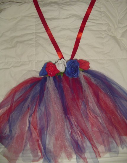 Patriotic Princess Tutu Dress