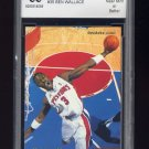 2002-03 Stadium Club Basketball #35 Ben Wallace - Detroit Pistons Graded BCCG 9