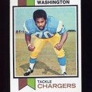 1973 Topps Football #199 Russ Washington - San Diego Chargers