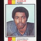 1973 Topps Football #451 Charlie Ford - Chicago Bears
