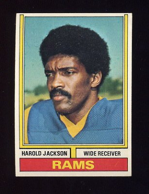 1974 Topps Football #420 Harold Jackson - Los Angeles Rams
