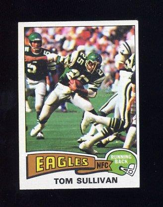 1975 Topps Football #509 Tom Sullivan - Philadelphia Eagles
