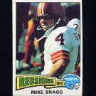 1975 Topps Football #506 Mike Bragg - Washington Redskins NM-M
