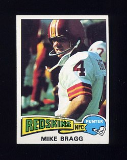 1975 Topps Football #506 Mike Bragg - Washington Redskins NM-M