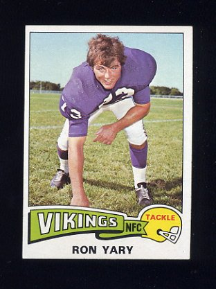 1975 Topps Football #433 Ron Yary - Minnesota Vikings NM-M
