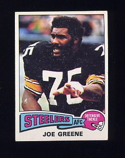 "1975 Topps Football #425 ""Mean"" Joe Greene - Pittsburgh Steelers"