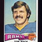 1975 Topps Football #420 Tom Mack - Los Angeles Rams ExMt