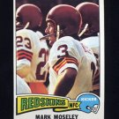 1975 Topps Football #364 Mark Moseley - Washington Redskins