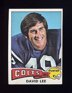 1975 Topps Football #361 David Lee - Baltimore Colts