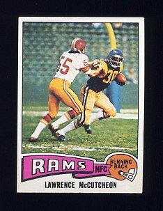 1975 Topps Football #360 Lawrence McCutcheon RC - Los Angeles Rams