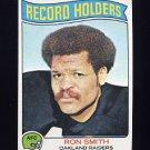 1975 Topps Football #356 Ron Smith RB - Oakland Raiders VgEx
