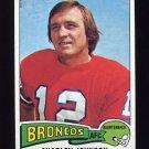 1975 Topps Football #295 Charley Johnson - Denver Broncos NM-M