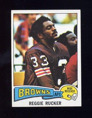 1975 Topps Football #288 Reggie Rucker - Cleveland Browns