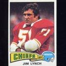 1975 Topps Football #254 Jim Lynch - Kansas City Chiefs