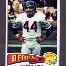 1975 Topps Football #237 Garry Lyle - Chicago Bears G