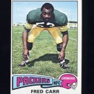 1975 Topps Football #233 Fred Carr - Green Bay Packers