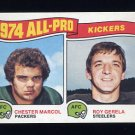 1975 Topps Football #212 Chester Marcol / Roy Gerela