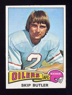 1975 Topps Football #194 Skip Butler - Houston Oilers NM-M
