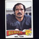 1975 Topps Football #184 Mel Tom - Chicago Bears
