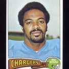 1975 Topps Football #181 Jerry LeVias - San Diego Chargers NM-M