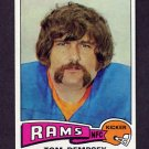 1975 Topps Football #163 Tom Dempsey - Los Angeles Rams