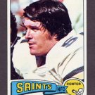 1975 Topps Football #162 John Didion - New Orleans Saints NM-M