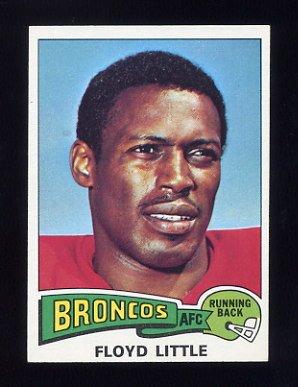 1975 Topps Football #132 Floyd Little - Denver Broncos NM-M