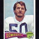 1975 Topps Football #118 D.D. Lewis - Dallas Cowboys Vg