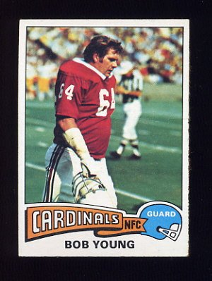 1975 Topps Football #72 Bob Young - St. Louis Cardinals