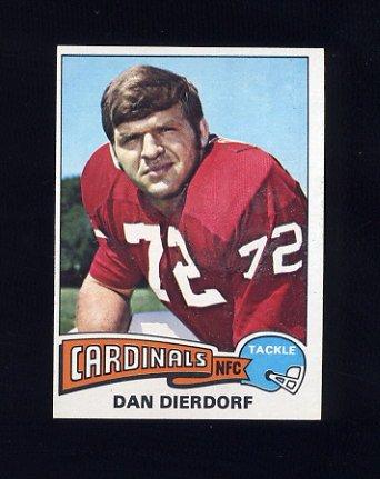 1975 Topps Football #35 Dan Dierdorf - St. Louis Cardinals