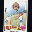 1975 Topps Football #24 Ron Saul - Houston Oilers