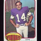 1976 Topps Football #479 Fred Cox - Minnesota Vikings