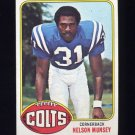 1976 Topps Football #153 Nelson Munsey RC - Baltimore Colts