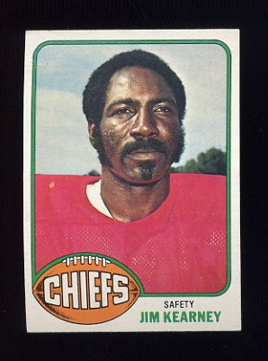 1976 Topps Football #129 Jim Kearney - Kansas City Chiefs