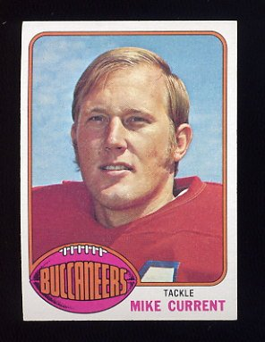 1976 Topps Football #097 Mike Current - Tampa Bay Buccaneers