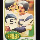 1976 Topps Football #304 Ray Wersching RC - San Diego Chargers