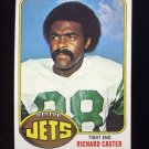 1976 Topps Football #244 Richard Caster - New York Jets