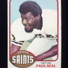 1976 Topps Football #228 Paul Seal RC - New Orleans Saints
