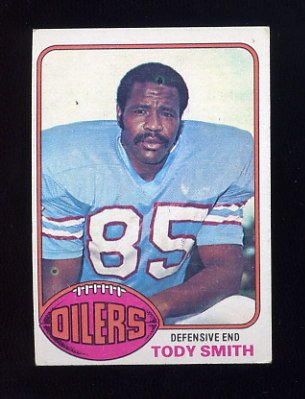1976 Topps Football #486 Tody Smith - Houston Oilers