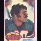 1976 Topps Football #437 Larry Csonka - New York Giants