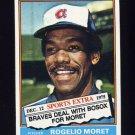 1976 Topps Traded Baseball #632T Rogelio Moret - Atlanta Braves